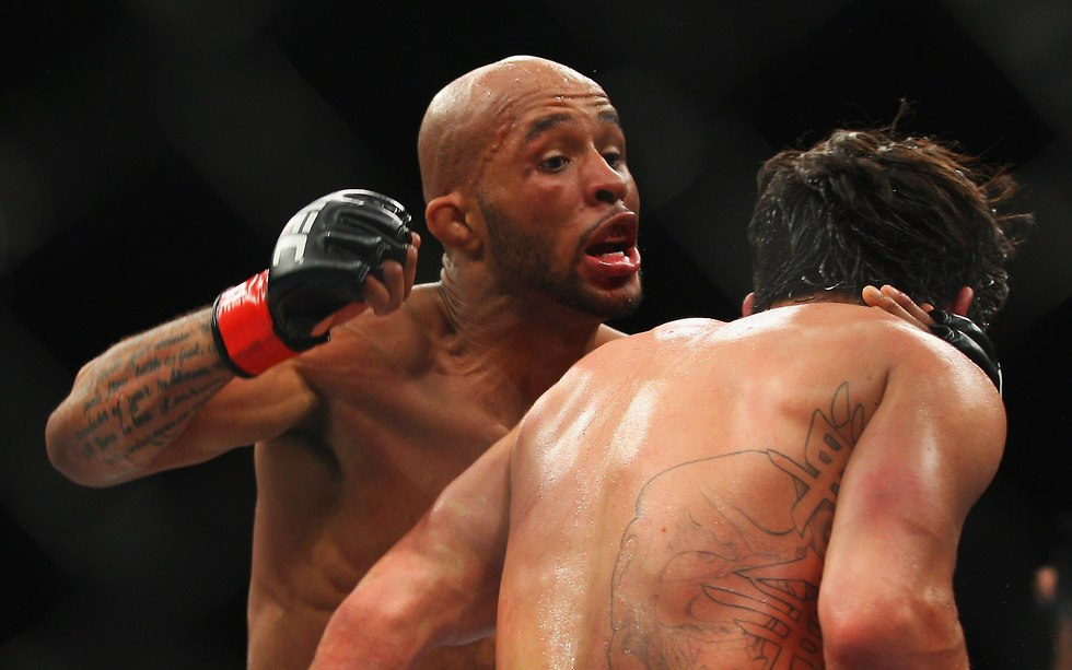 דמיטריוס ג'ונסון MMA UFC (צילום: gettyimages)