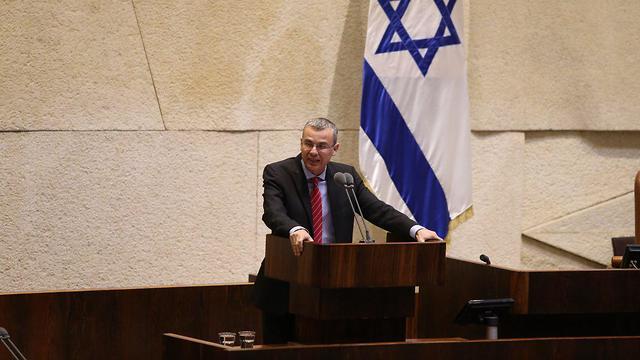 Minister Yariv Levin (Photo: Amit Shabi)