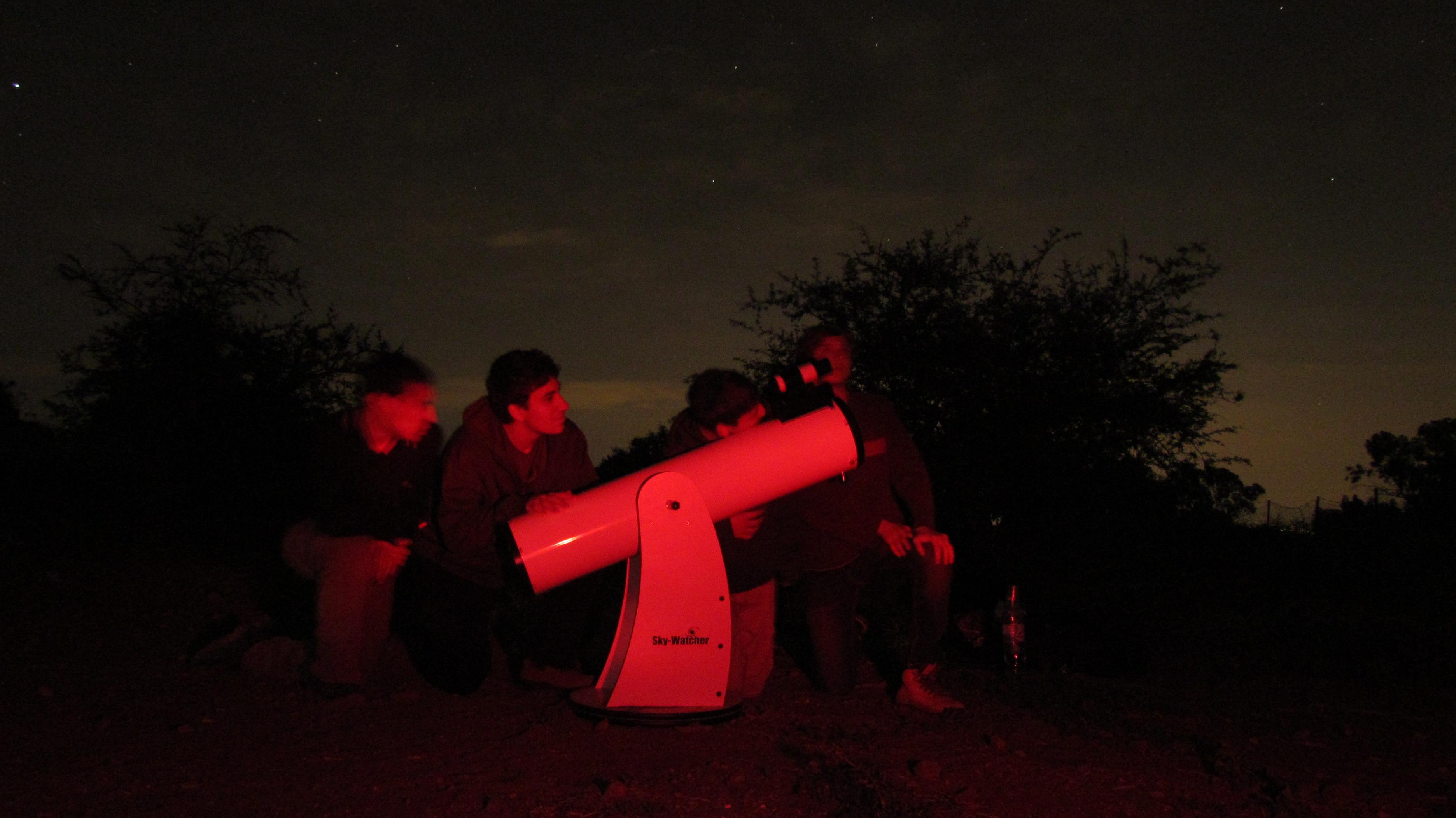 ליל מטאורים בגן לאומי כוכב הירדן (צילום: אריאב בולדו)