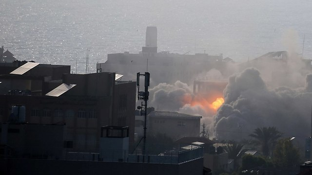 Strike in Gaza: File photo (Photo: Reuters)