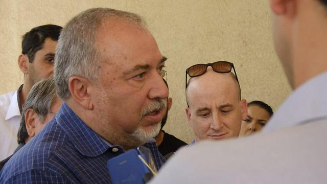 Defense Minister Avigdor Lieberman (Photo: Avi Roccah)