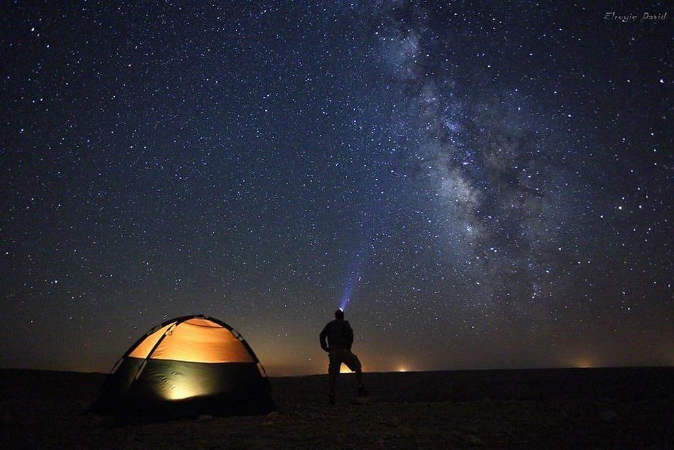תצפית כוכבים מכתש רמון (צילום דויד אלרואי)