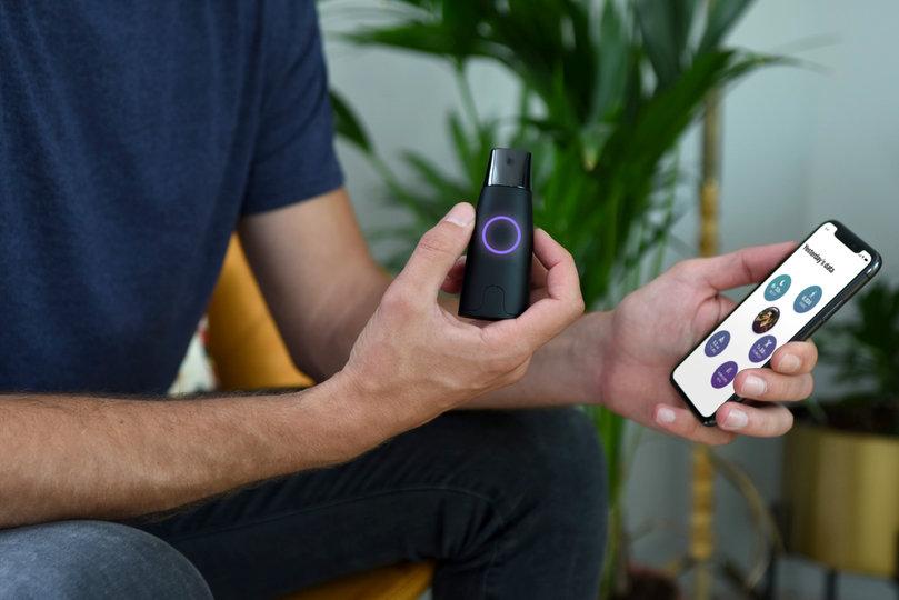 Прибор и приложение для смартфона Lumen