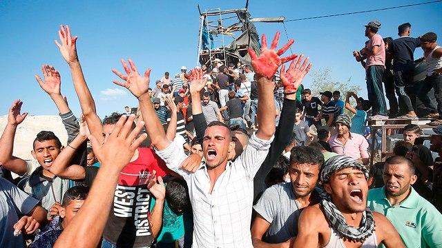 Активисты ХАМАСа. Фото:AFP
