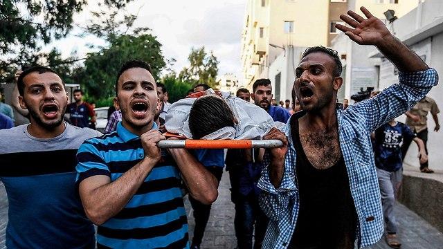 Gaza border violence  (Photo: AFP)