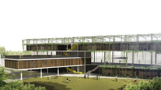 מרכז קהילתי רמת אביב (הדמייה: קיסלוב קיי אדריכלים)