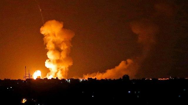 IAF attacks in Gaza  (Photo: AFP)