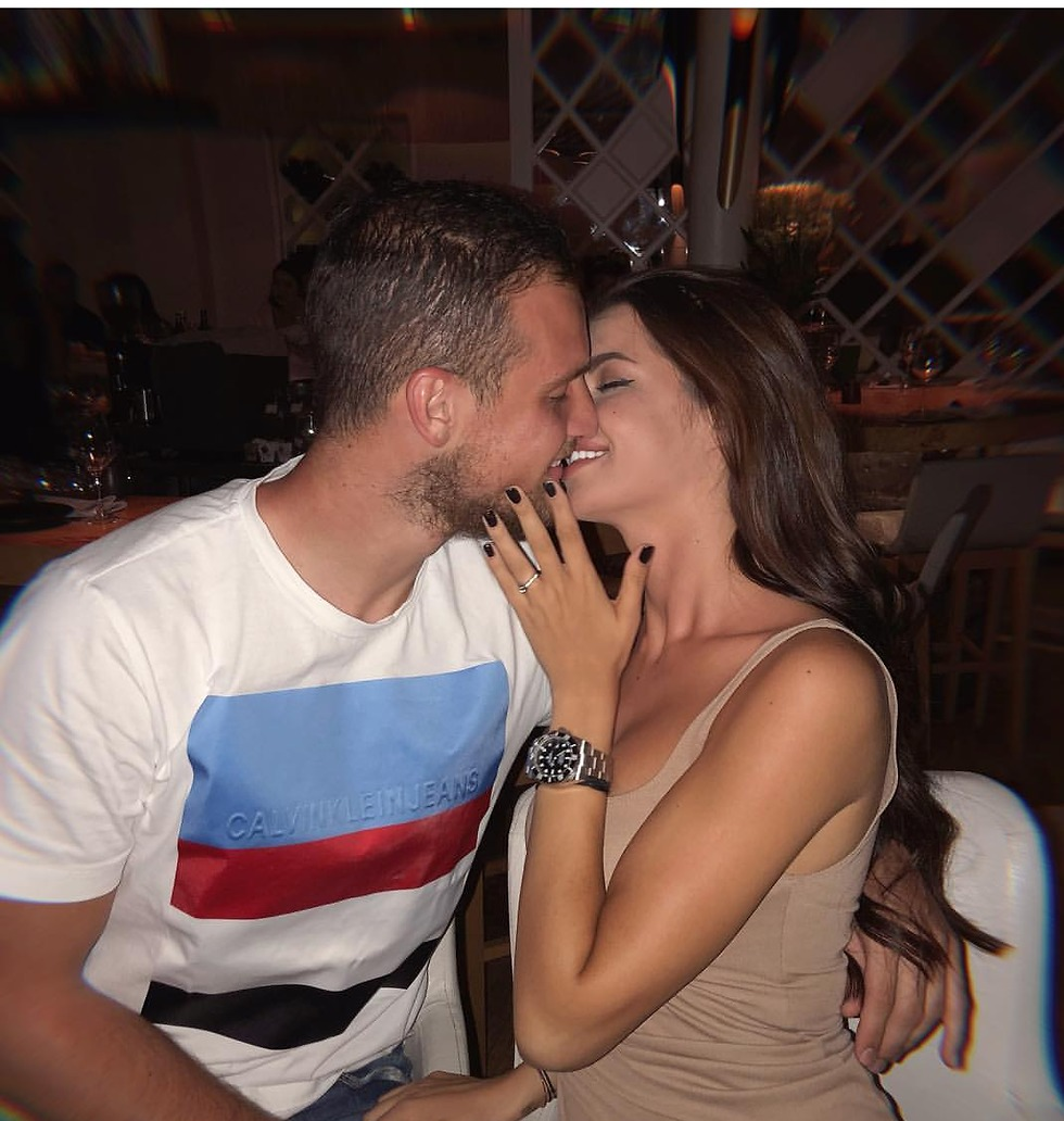 אנה קאקיץ ופרדראג ראיקוביץ' מתחתנים (צילום: מתוך האינסטגרם)
