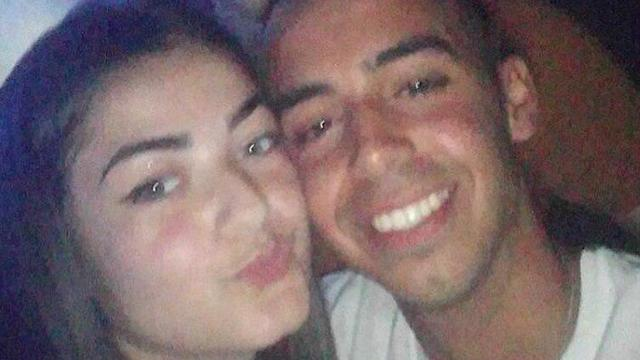 Levi with his girlfriend Shahar Erez