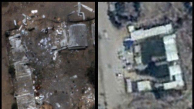 Destruction to Hamas battalion headquarters in Israeli strike (Photo: IDF Spokesman's Office)