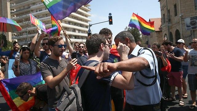 Arrest in Jerusalem (Photo: Ohad Zwigenberg)