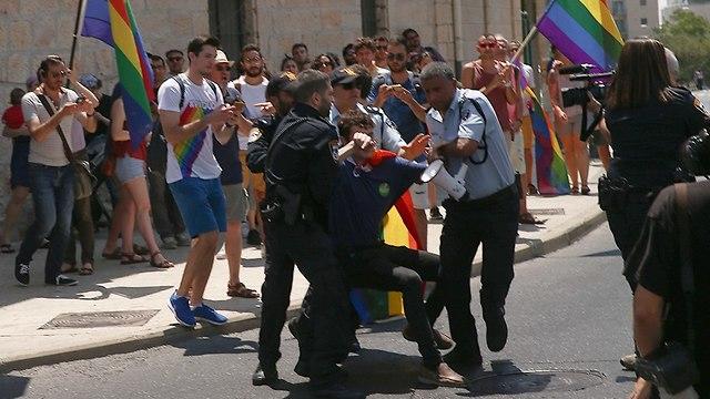 Clash in Jerusalem (Photo: Ohad Zwigenberg)