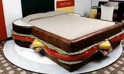 למה לישון במיטה ולאכול במטבח? (מעמוד האינסטגרם של nyfurnituredeal)