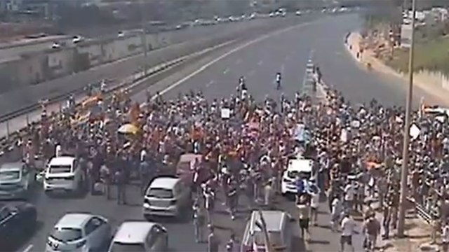 LGBT protest over surrogacy law (Photo: Ayalon Highway)