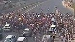 תיעוד צעדה איילון דרום חסימה מפגינים הפגנה קהילה להט