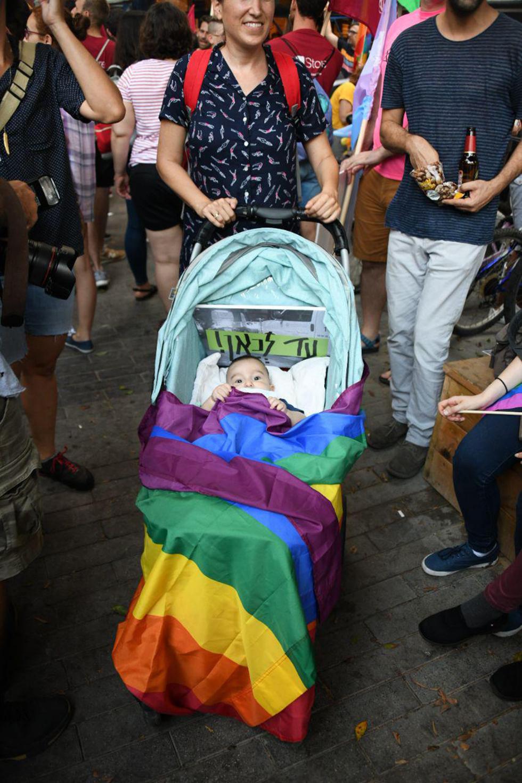 The transgender community rally  (Photo: Yair Sagi)