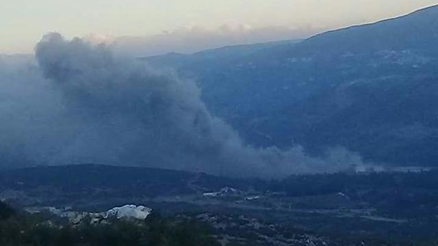 Photo: Attack in Hama