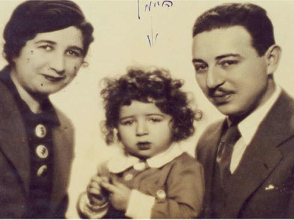 נחום נחצ'ה היימן מלין זמר עברי לטביה חתן פרס ישראל ילד  (באדיבות עפר גביש)