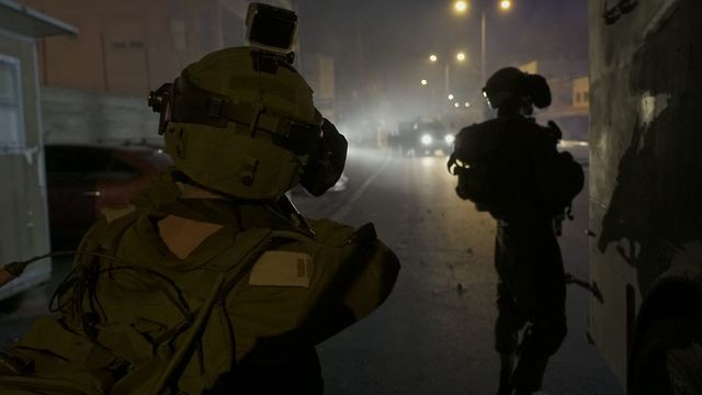 IDF conducts arrests in Dheisheh refugee camp  (Photo: IDF's Spokesperson's Unit )