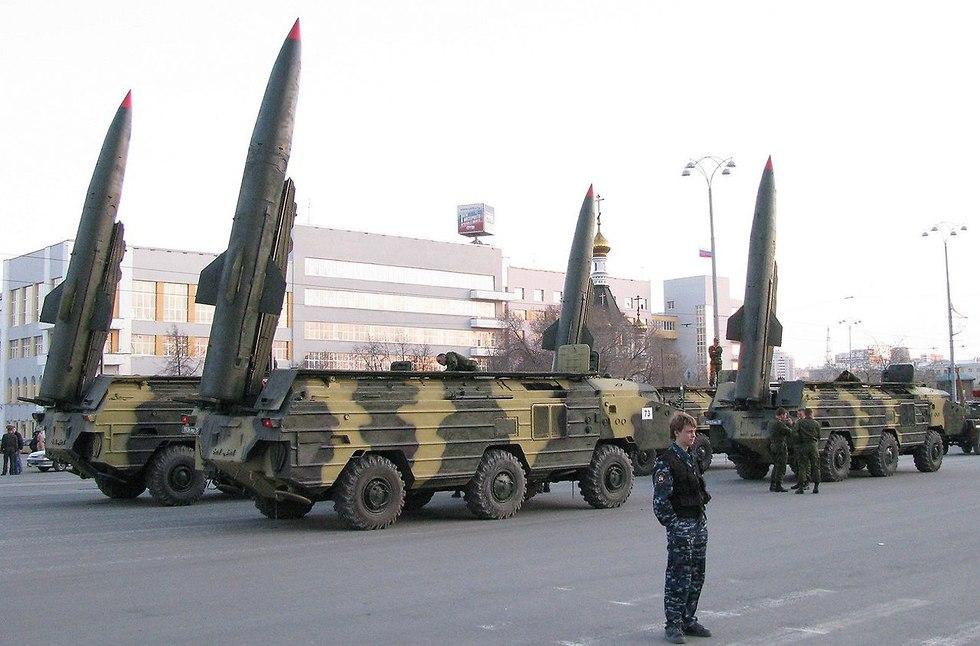 טיל טילים בליסטי SS-21 קרקע קרקע סוריה יירוט (צילום: ויקיפדיה)