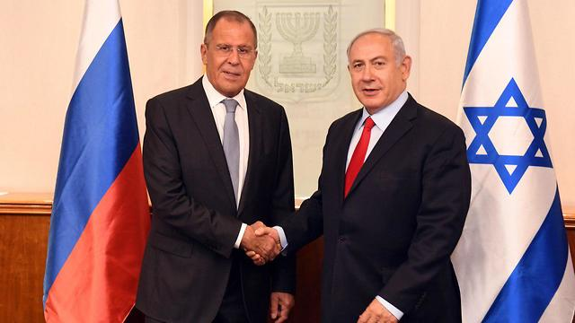 Netanyahu meets with Lavrov (Photo: Haim Zach/GPO)
