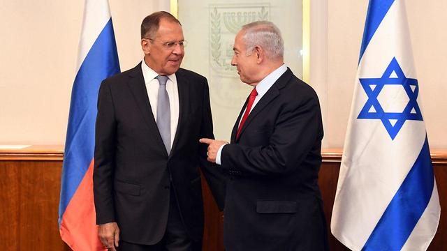 Lavrov (L) and Netanyahu (Photo: GPO)