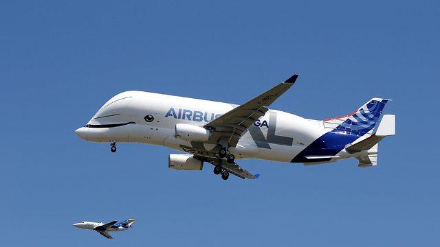 מטוס איירבוס BelugaXL (צילום: רויטרס)