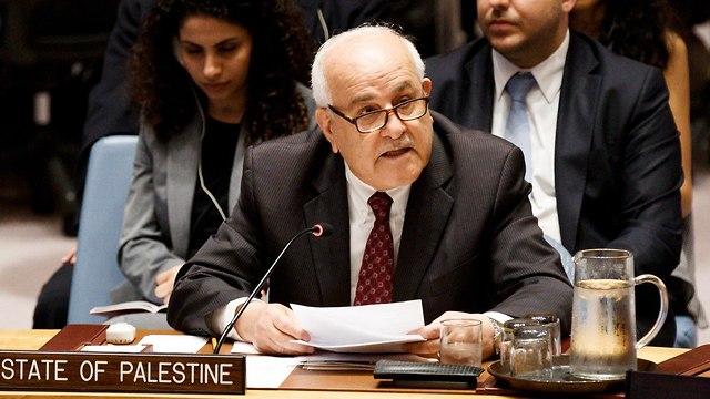 Глава палестинской делегации в ООН. Фото: ЕРА (Photo: EPA)