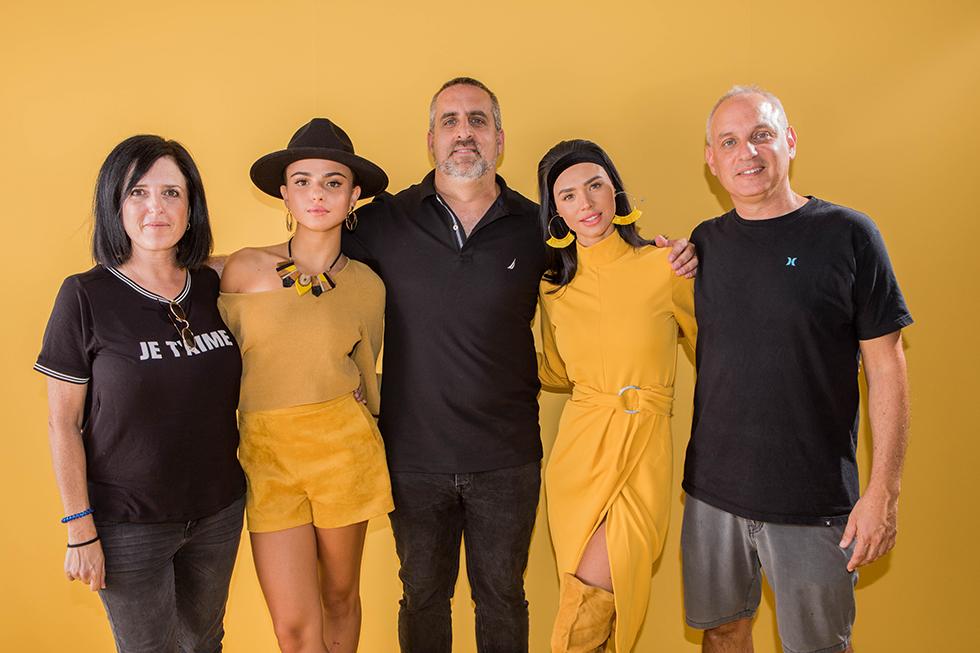 רכילות עסקית עמית שוק, רוסלנה רודינה, מריאנו קרפ, קים אזולאי, מירי אמקיאס (צילום: אורית פניני)