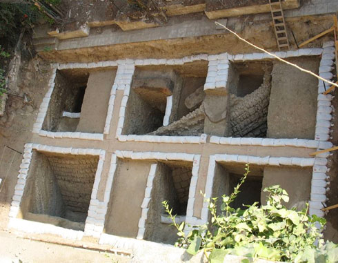 החפירות אפשרו הקמה של קומה תת קרקעית גדולה (צילום: רמי גיל)