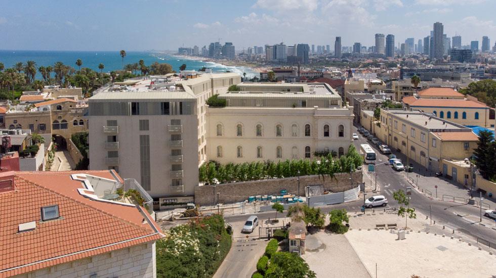 מבט צפונה, לכיוון תל אביב (צילום: מערכת)