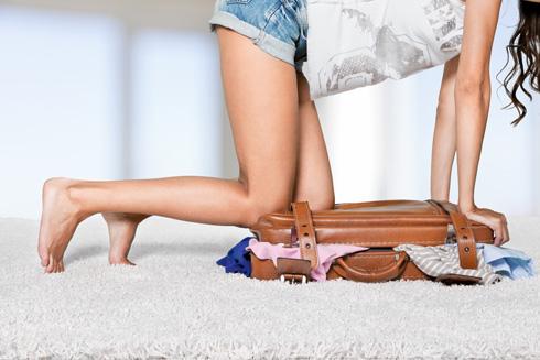 ארזו מעט ככל האפשר (צילום: Shutterstock)