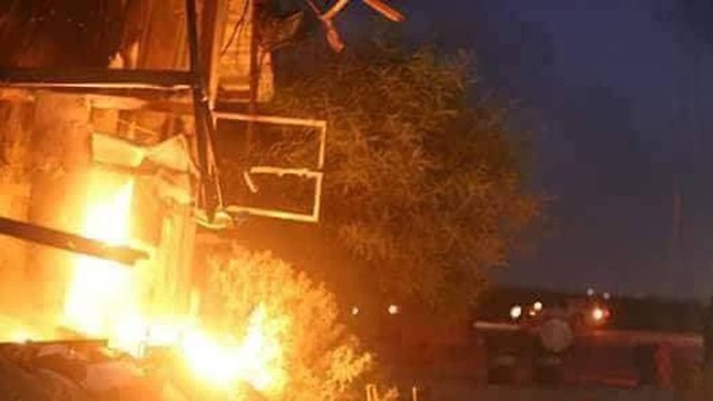 Hamas outpost attacked by IDF
