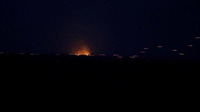 הלחימה בצד הסורי (צילום: רויטרס)