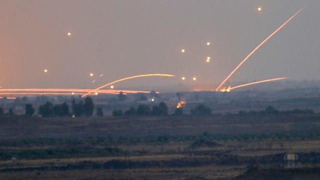 הלחימה בצד הסורי (צילום: AP)