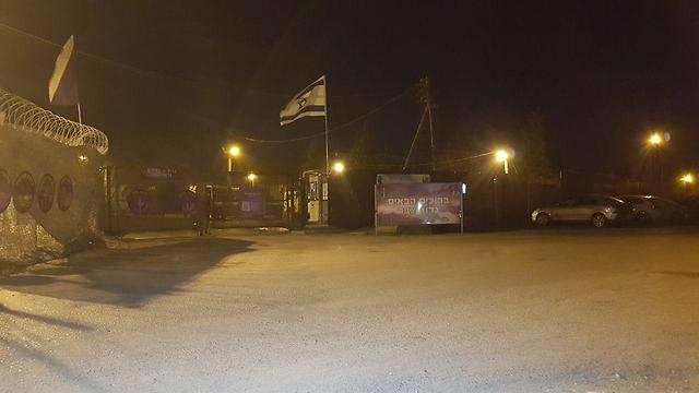 """База батальона """"Цабар"""". Фото: Рои Идан"""