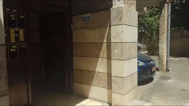 Вход в конспиративную квартиру в Беэр-Шеве