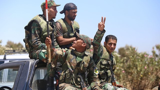 Syrian forces (Photo: AFP)