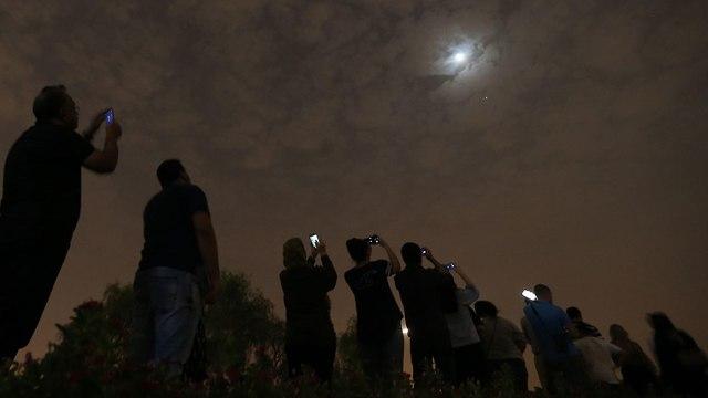 ליקוי ירח (צילום: EPA)