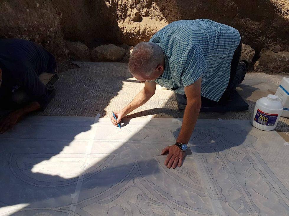 Фото: Ралеб Абу-Диаб, Управление древностей