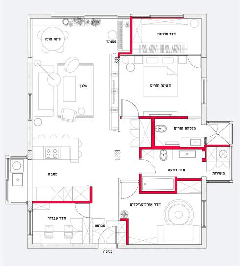 התוכנית החדשה של הדירה (תוכנית: באדיבות סטודיו 37)
