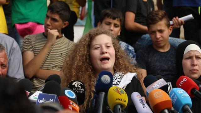 מסיבת עיתונאים עאהד תמימי (צילום: צביקה טישלר)