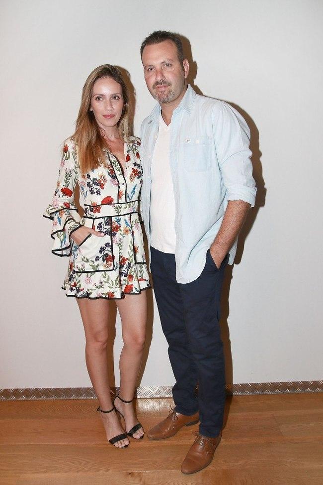 מציירת תמונה, שלי ושלך. מלי לוי ושמעון גרשון (צילום: ענת מוסברג)