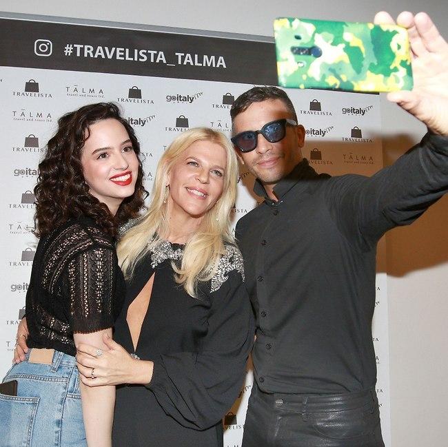 סלפי של מטריקס. מושיק גלאמין, סנדרה רינגלר וקורין גדעון (צילום: ענת מוסברג)