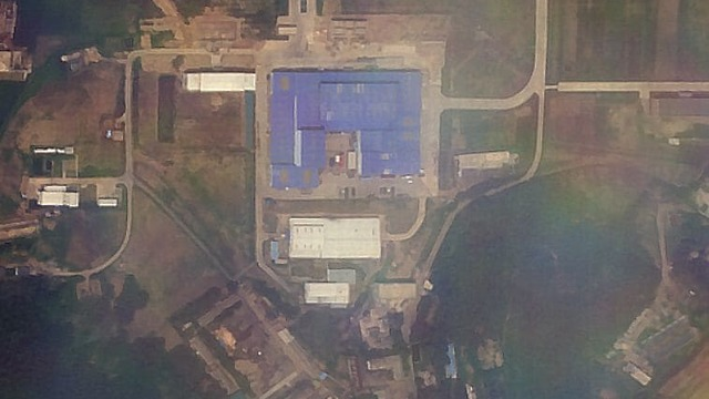 Satellite image of ICBM construction  (Photo: Planet Labs Inc./James Martin Center for Nonproliferation Studies at Middlebury Institute)