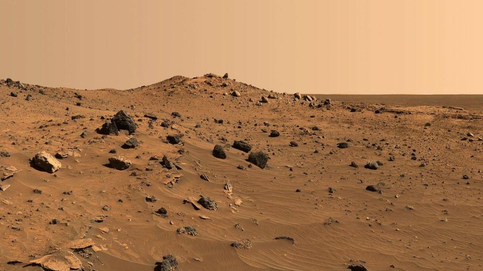 נוף על מאדים (צילום: נאס