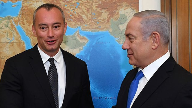 Mladenov with PM Netanyahu (Photo: Gov. Press Office)