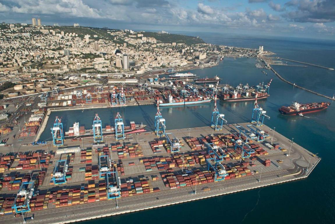 נמל חיפה (צילום: ונציאן ורהפטיג)