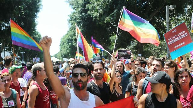 LGBT protests in Tel Aviv (Photo: Motti Kimchi)