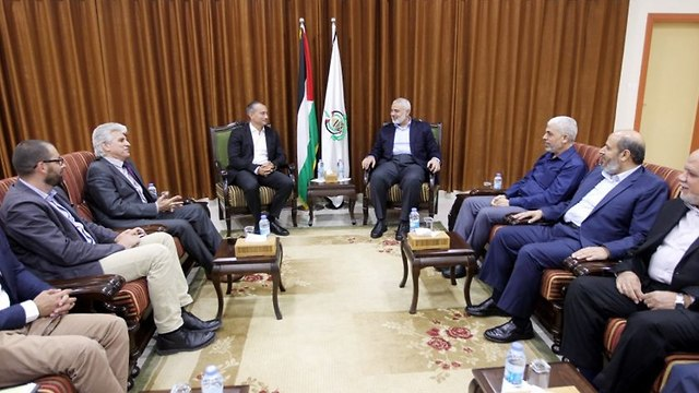 With hamas leadership in Gaza